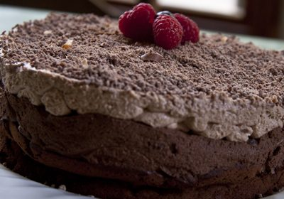 Triple Chocolate Mousse Cake (Gluten Free)
