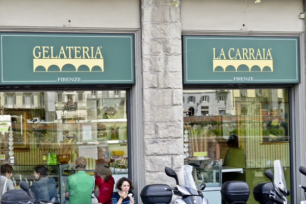 The best gelato in Florence.