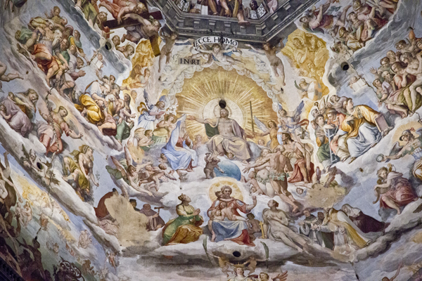 A closer look at Vasari's fresco