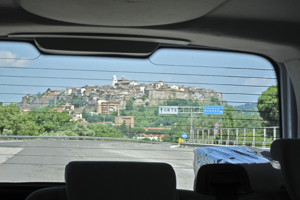 Orte: The town on top of a hill