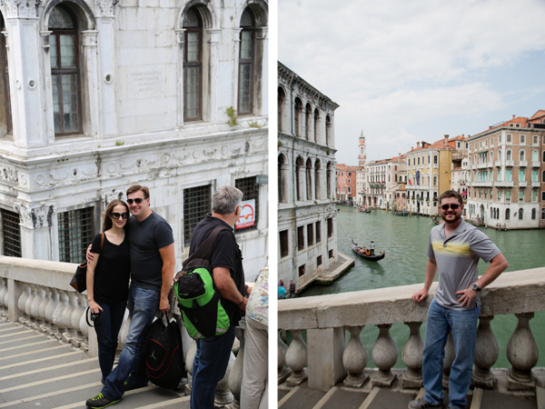 More shots on the Rialto Bridge