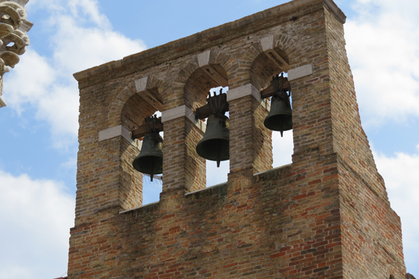 Bells in a church tower