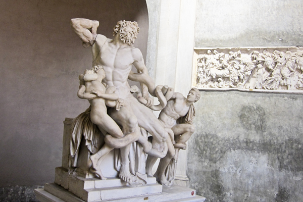 The Laocoön Group - My father-in-law's favorite statue