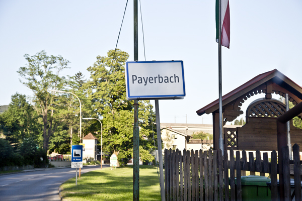 Pulling into Payerbach