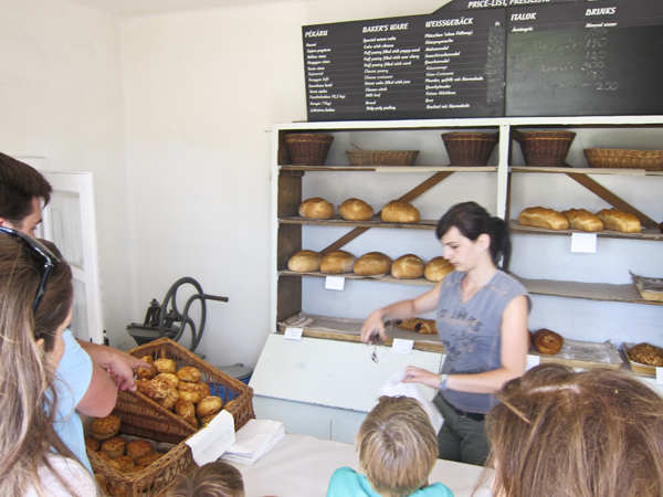 The bakery (our favorite spot)