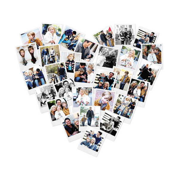 Heart Snapshot Mix by Minted - I know several people that have these and they are just too cute for words!