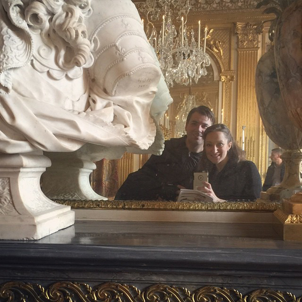 Mirror selfie at Versailles
