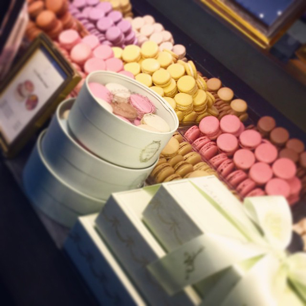The famous Laduree