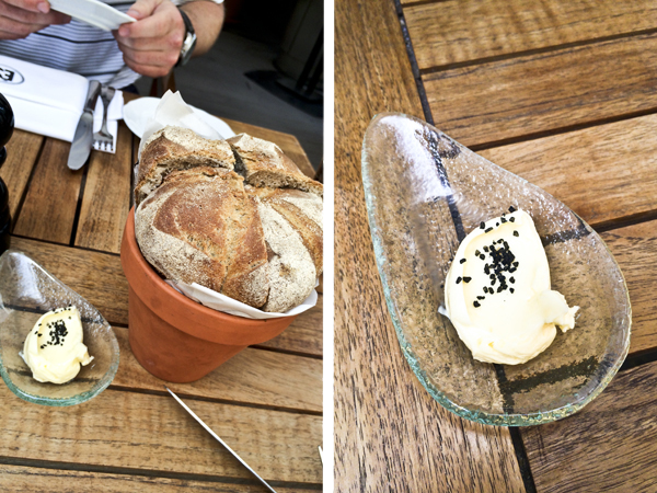 The bread was amazing!