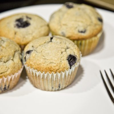Happy Spring and Blueberry Muffins