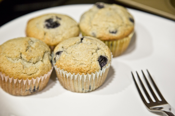 Gluten-Free Blueberry Muffins *Hungarian Housewife*