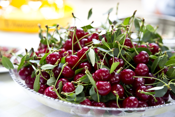 Meggy (sour cherries) are the perfect mix of sweet and tart