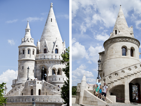 More of the Fisherman's Bastion
