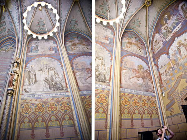 Saint Stephen Chapel frescoes
