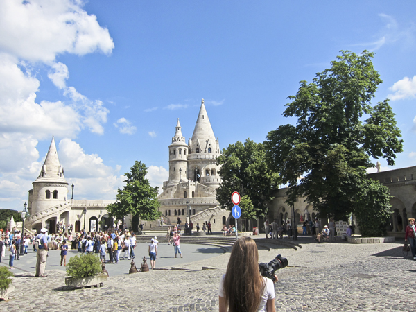 Castle Hill looking toward the Fisherman's Bastion