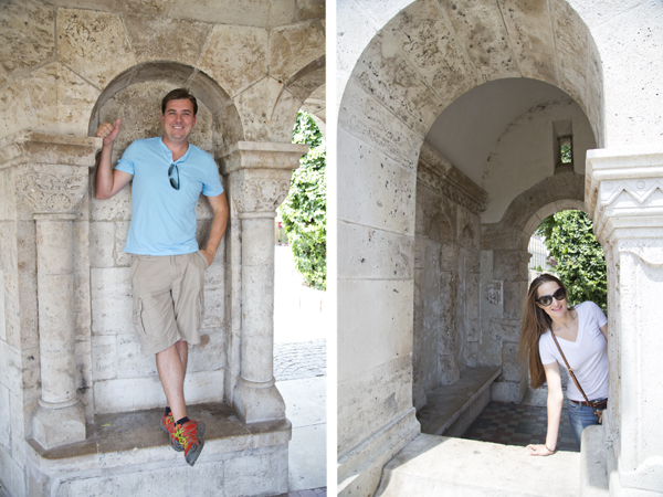 Clowning around the Fisherman's Bastion
