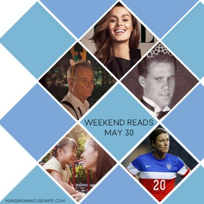Weekend Reads – May 30