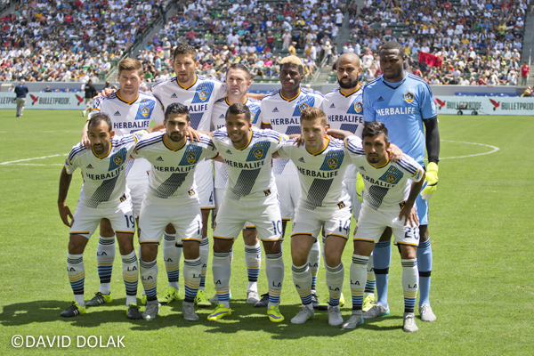 LA Galaxy Team Photo