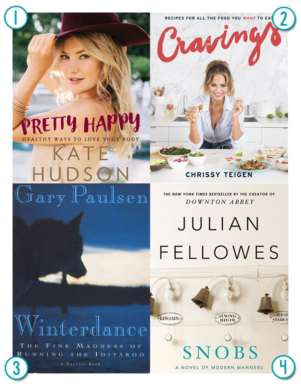 Four books I am loving right now