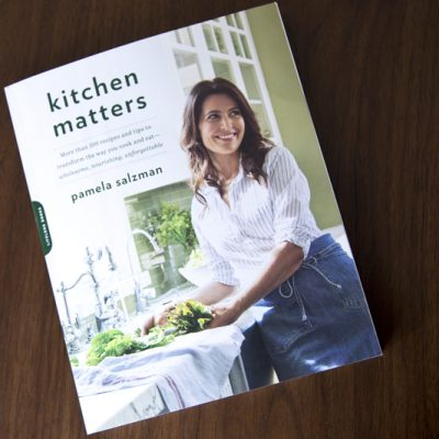Kitchen Matters by Pamela Salzman Book Cover