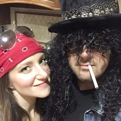 Countdown to Halloween: Axl and Slash Forever!